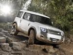 Land Rover представит Defender нового поколения