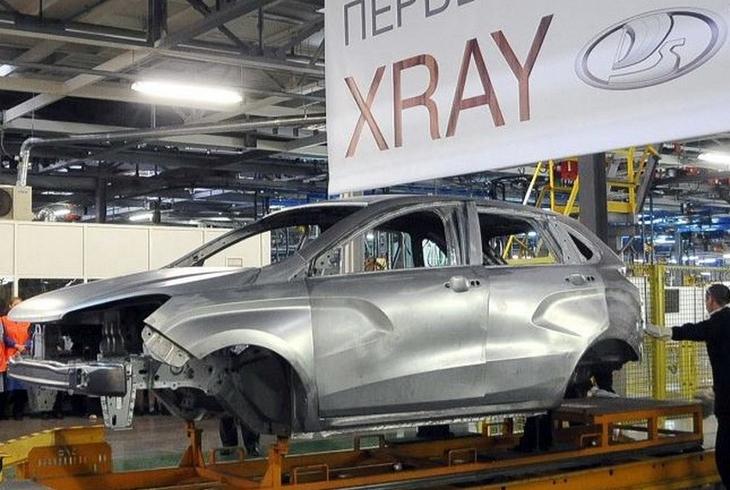 Lada XRAY. Проблемы наэтапе сборки