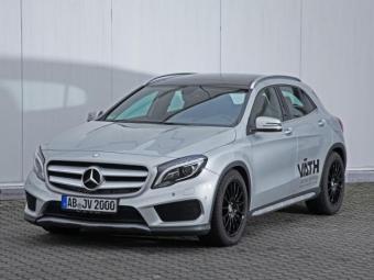 Ателье VATH увеличило мощность для Mercedes-Benz GLA 200