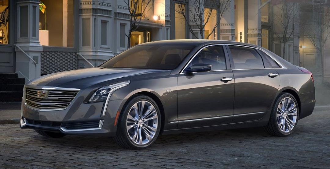 Флагманский седан Cadillac CT6 может появится с«заряженной» версией