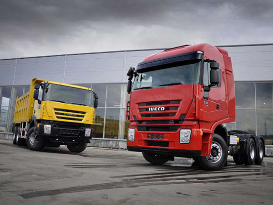 Iveco представила вРоссии новый грузовик 682