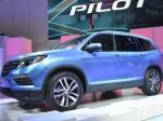 Honda Pilot получила новый дизайн иновый двигатель