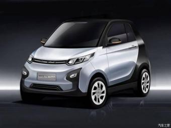 Китайская компания разработала двухдверный электромобиль