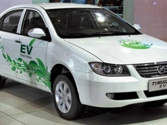 ВКитае электрическая версия седана Lifan Solano поступила впродажу