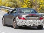 Новый спорт-купе Mercedes SLC попался накамеру