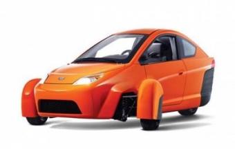 Компания Elio Motors представила трехколесную модель P5