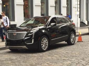 Винтернете рассекречен новый кроссовер Cadillac XT5 2016 модельного ряда