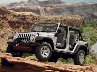 Jeep Wrangler будет выпущен не ранее 2015 года