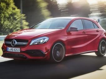 «Заряженный» хэтчбек A45 AMG 4MATIC официально представлен Mercedes Benz