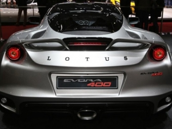 Lotus начал серийное производство спорткара Evora 400