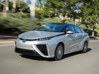 Тойота Mirai показала рекорд дальности хода для авто снулевым выбросом