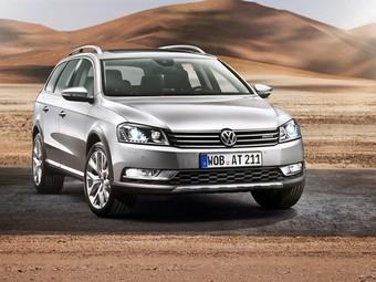 Volkswagen представил внедорожный Passat Alltrack