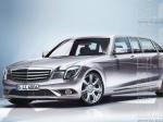 Президентский Mercedes: первые рисунки