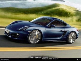 Porsche готовит новый Cayman