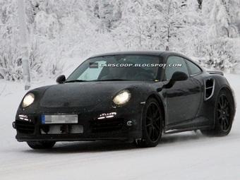Новый Porsche 911 Turbo получит три нагнетателя