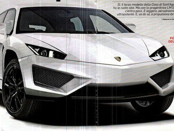 Внедорожник Lamborghini: первый взгляд