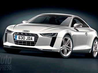 Новая Audi TT: первые фотографии