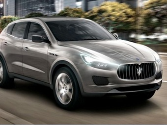 Новую Maserati назовут Maseratina
