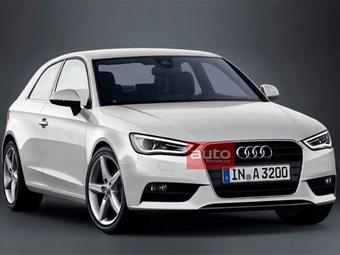 Первое фото новой Audi A3