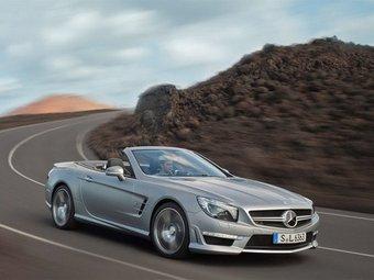 Самый быстрый Mercedes SL рассекретили перед Женевой