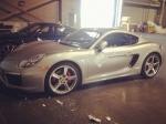 Porsche представит новые спортивные автомобили Cayman на автошоу в Лос-Анджелесе