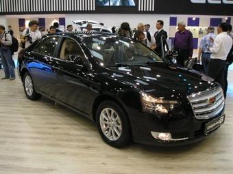 Новый седан Geely Emgrand 8 дебютировал в Украине
