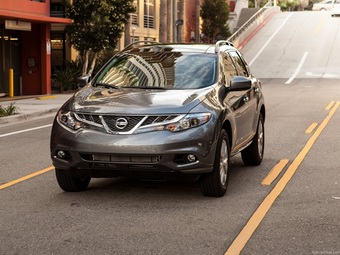 Стали известны российские цены на новый Nissan Murano образца 2013 года