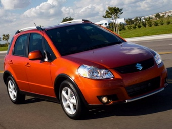 Кроссовер Suzuki SX4: преимущества автомобиля