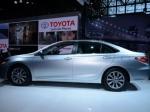 На автосалоне в Москве представлена новая Toyota Camry