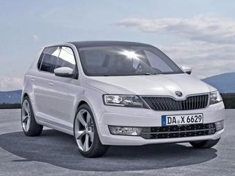 В Чехии начали производство Skoda Fabia третьего поколения