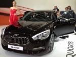 Kia Quoris появился на российском рынке