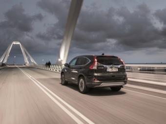Компания Honda привезла наеврорынок кроссовер CR-V