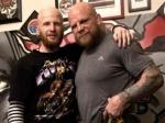 Боец Джефф Монсон сделал татуировку «Родина-мать зовет!»