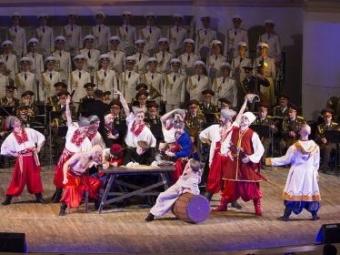 Ансамбль МинобороныРФ записал диск украинских песен