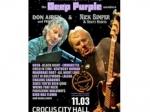 Участники Deep Purple посетят вмарте Москву сконцертом