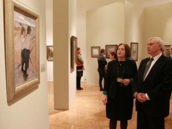 ВРусском музее открылась выставка к150-тилетию Валентина Серова