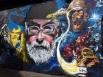 Граффити сТерри Пратчеттом иСмертью появились вВеликобритании