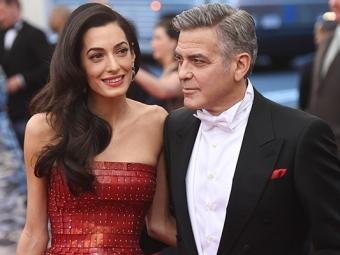 Дебют вкино: Амаль Клуни снимется вновом фильме супруга Джорджа Клуни