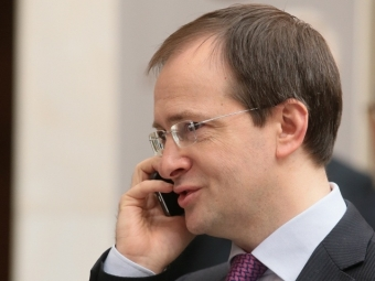 Вадентина Матвиенко поздравила худрука Малого театра Юрия Соломина с80-летием