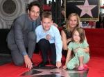 «Человек-муравей» Пол Радд получил звезду наАллее славы