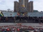 ВКиеве солдаты требуют отставки Порошенко