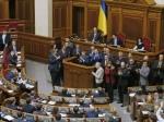 Украинцы протестуют уздания Верховной рады