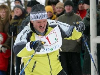 Лукашенко находится вотпуске вСочи