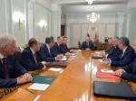 Президент России обсудил сСоветом безопасности ситуацию наУкраине
