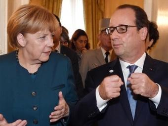 Меркель иОлланд прибыли вМоскву напереговоры кПутину