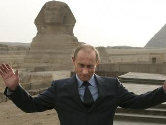 Владимир Путин отправится сдвухдневным визитом вЕгипет