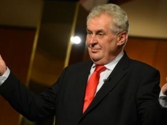 Антироссийские санкции продлятся неболее года— Президент Чехии