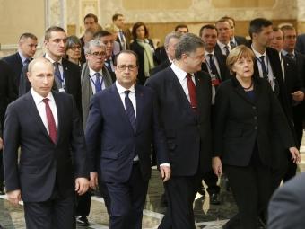 ВМинске договорились ободном из4 пунктов переговоров