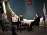Интервью Д.Медведева вызвало гнев грузинских властей