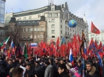 Царев и«Хирург»: На «Антимайдан» вМоскве свезли тысячи людей, воглаве колонны